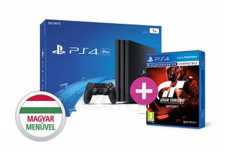 PlayStation 4 (PS4) Pro 1TB + Gran Turismo Sport PS4